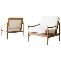 Danish Modern Lounge Chairs for Mobler Imports