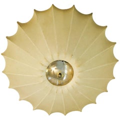 Castiglioni Italian Midcentury 1960s Sculptural Ceiling Wall Light