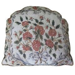 19th Century Needlepoint Pillow