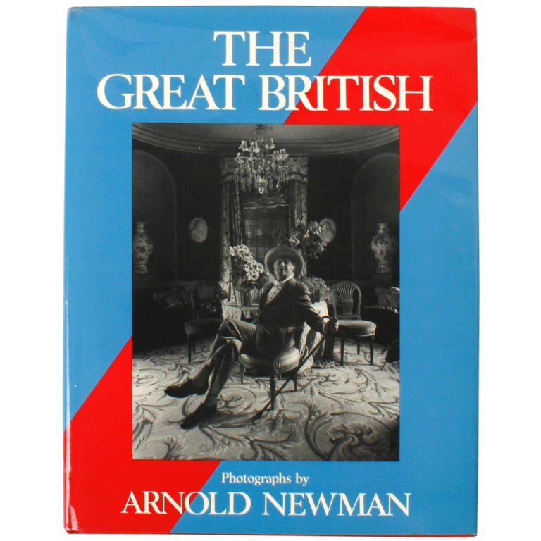The Great British by Arnold Newman 1st Ed For Sale