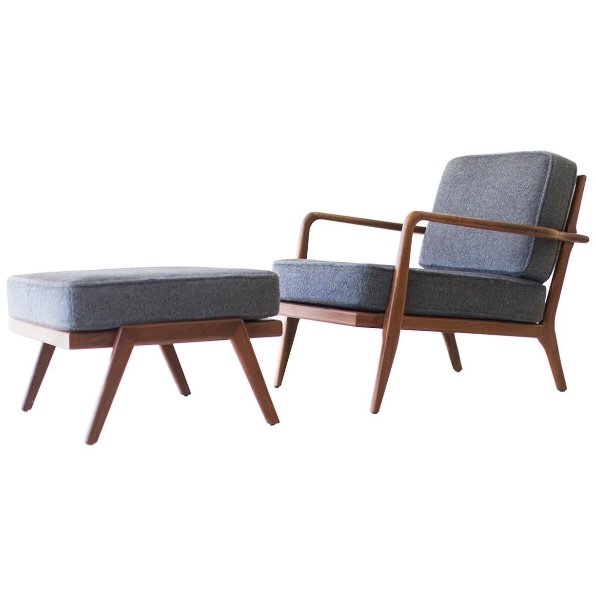 Mel Smilow Lounge Chair and Ottoman for Smilow-Thielle