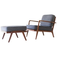 Mel Smilow Lounge Chair and Ottoman for Smilow-Thielle