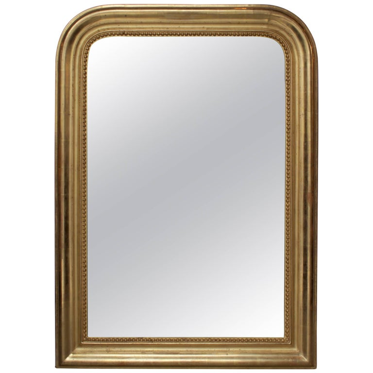 French Gilt Louis Philippe Mirror For Sale