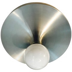 Honsel 1960s German Space Age Midcentury Flush Ceiling Wall Light