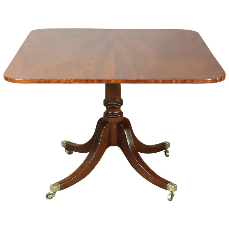 English Regency Mahogany Breakfast Table For Sale