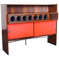 Danish Rosewood Luxury Dry Bar by Dyrlund