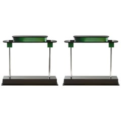 Ettore Sottsass, Two Pausania Table Lamps, 1982