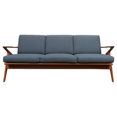 Danish Teak Z Sofa by Poul Jensen for Selig