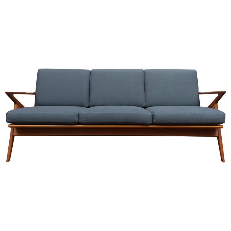 Danish Teak Z Sofa by Poul Jensen for Selig 1