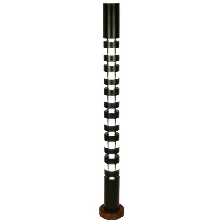 Large Totem Standing Lamp by Serge Mouille For Sale