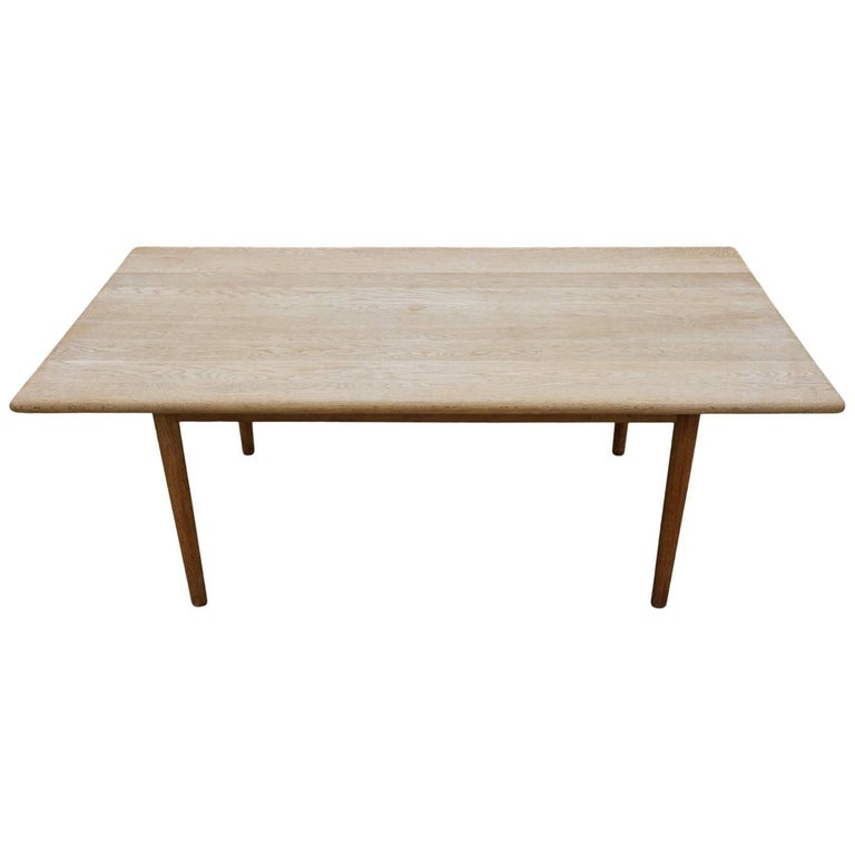 Oak Coffee Table Designed By Hans Wegner Circa 1960 For Sale At 1stdibs