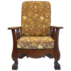 LJG Stickley Mission Reclining Morris Chair For Sale At Stdibs - William morris chairs