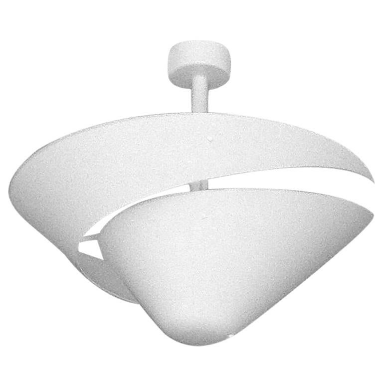 Small Snail Ceiling Lamp by Serge Mouille