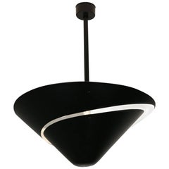 Large Snail Ceiling Lamp by Serge Mouille