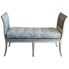 Period Gustavian Window Bench