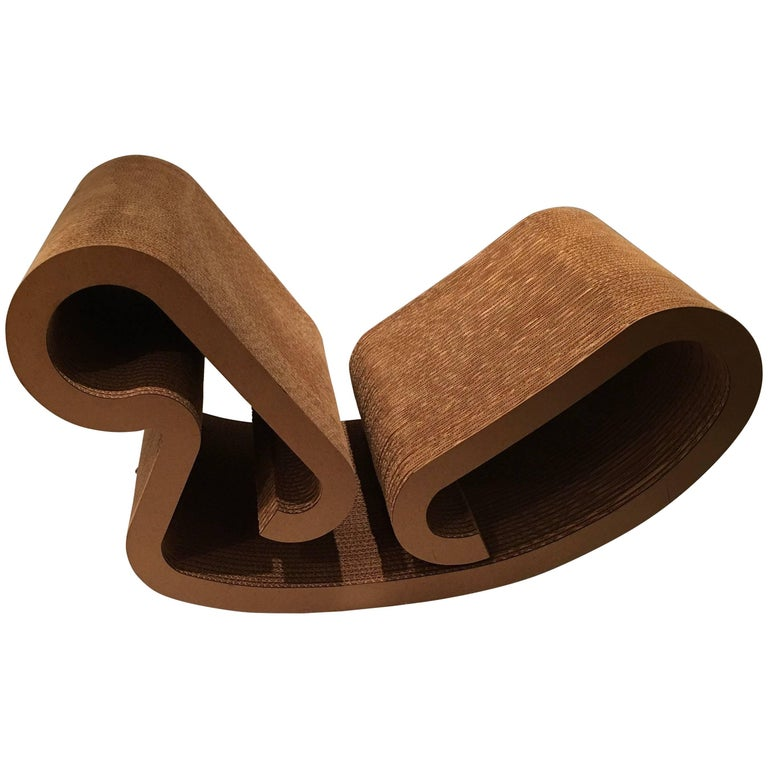 "Frank Gehry ""Easy Edges"" Rocking Chair 1"