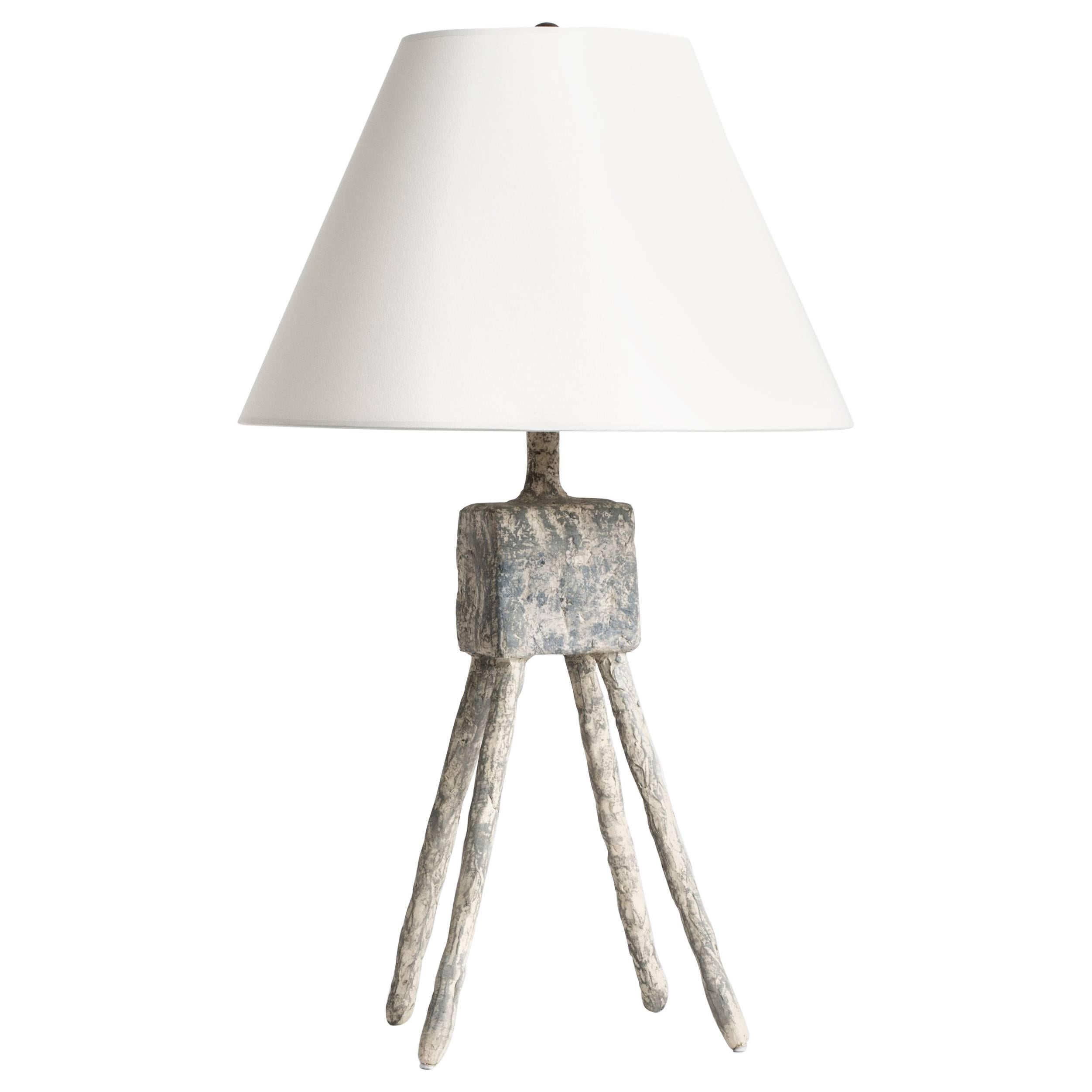 Cast Resin Plaster Texture Morceau Table Lamp, Kacper Dolatowski