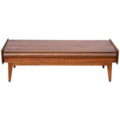 First Edition Lane Coffee Table Attributed to Andre Bus