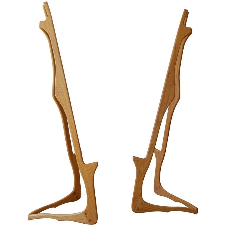 Sculpted Wood Art Easels