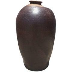 Tall Vintage European Ceramic Vase