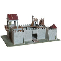 Elastolin Model of Medieval Fort