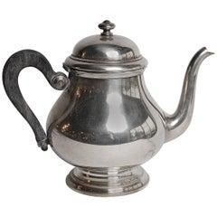 English Silver Teapot