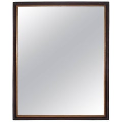 Large Early 20th Century Faux Bois Mirror