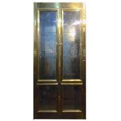Mastercraft Tall Cabinet in Brass