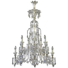 19th Century Ten-Light Victorian Chandelier by F & C Osler
