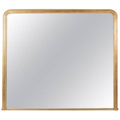 Very Large Overmantel Mirror, Late 20th Century in Regency Taste, English