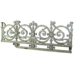 Very Exceptional Pair of Railings, France, 19th Century