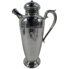 American Sterling Silver Party-Size Cocktail Shaker
