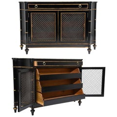 Pair of Hollywood Regency-Style Chest of Drawers