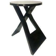 Modern Brazilian Folding Stool Attributed to Lina Bo Bardi Rare