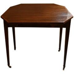 Antique English Sheraton Drop-Leaf Pembroke Table