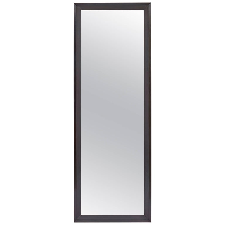 Bark Frameworks Blue Point Copper Clad Full Length Mirror with Dark Patina 1