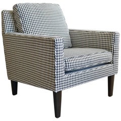 Houndstooth Lounge Chair by Edward Wormley for Dunbar, circa 1970
