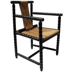 Josef Zotti Ebonized Chair