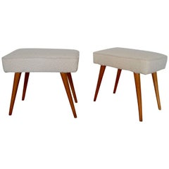Pair of 1950s, Italian Stools