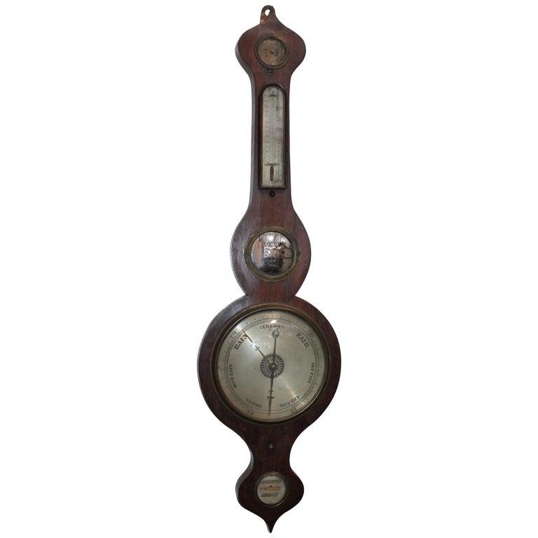 Wheel or Banjo Barometer 1