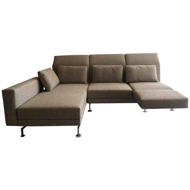 l sofa moule by manufacturer br hl in chromed metal finished in finest fabric at 1stdibs. Black Bedroom Furniture Sets. Home Design Ideas