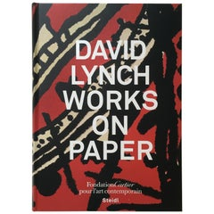 """David Lynch – Works on Paper"" Book First Edition"