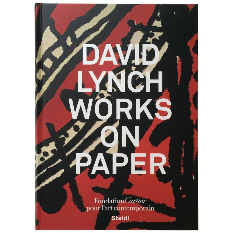 """""""David Lynch – Works on Paper"""" Book First Edition For Sale"""