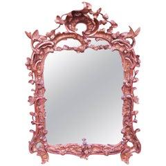 Antique 18th Century Gilt Wall Mirror