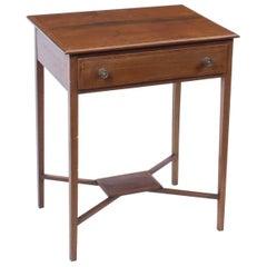 Early 20th Century Edwardian Mahogany Occasional Table