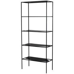 Felicia Ferrone Modern Steel Ahn Etagere Bookcase Storage Shelves, fferrone USA