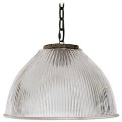 20th Century Holophane Industrial Lights