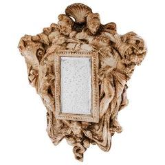19th Century Plaster Mirror