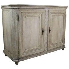 18th Century Bleached Oak Two-Door Buffet