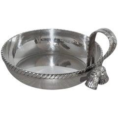 Maria Pergay Tassel Bowl
